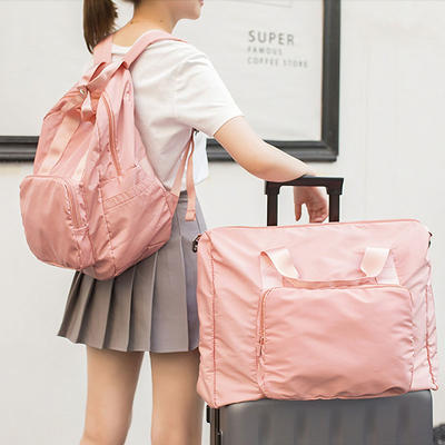 Hand-held Travel Foldable Bag Lightweight Travel Weekend Backpack Sunycat